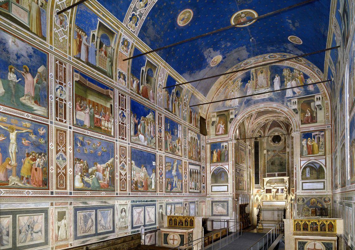 Padova, patrimonio Unesco i cicli di affreschi del XIV secolo