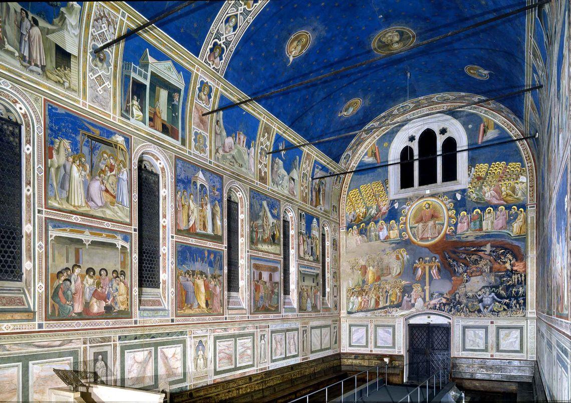 8 cappella degli scrovegni lato giudizio universale