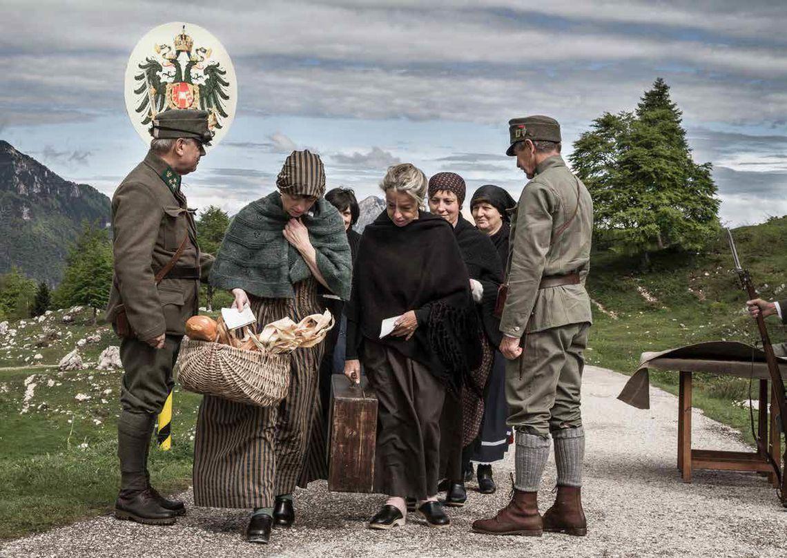 Terra, storia e memoria - soldati e popolane -  Associazione IV Novembre Ricercatori Storici
