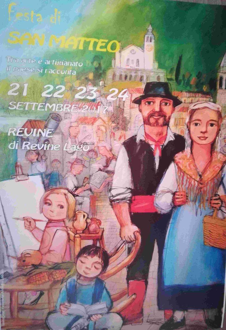 "La Musada - manifesto -  Gruppo folkloristico ""I Revinot"""