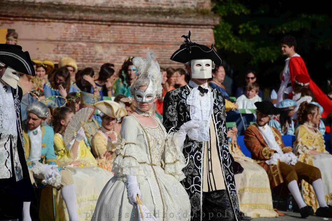Godego in cornice - maschere -  Pro Loco Godigese (Alessandro D'Ippolito)