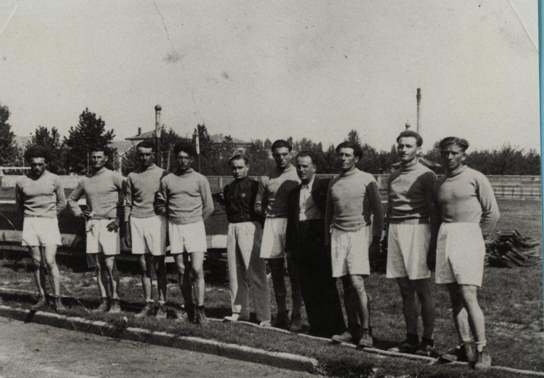Torre di mosto ve 1933 la squadra di tiro alla fune