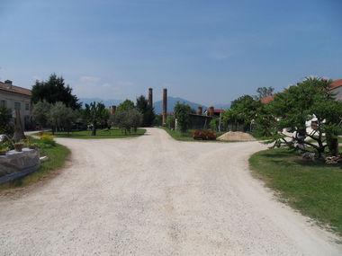 Giardino delle adiacenze di villa Da Porto, Colleoni, Di Thiene