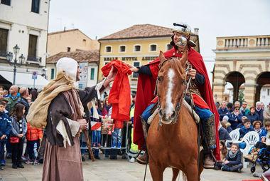 San Martino a cavallo -  Piove di Sacco PD