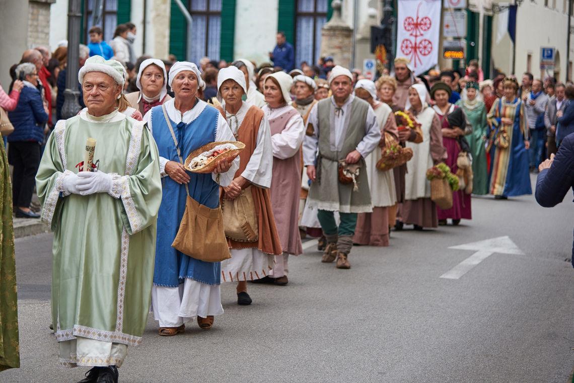 San Martino a cavallo - processione particolare -  Centro Turistico Giovanile Saccisica  (Alberto Chiggiato)