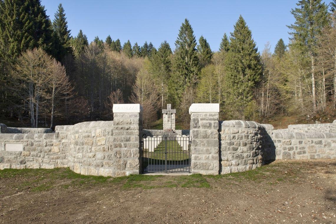 Sacrari della Grande Guerra - Cimitero Militare Britannico di Granezza