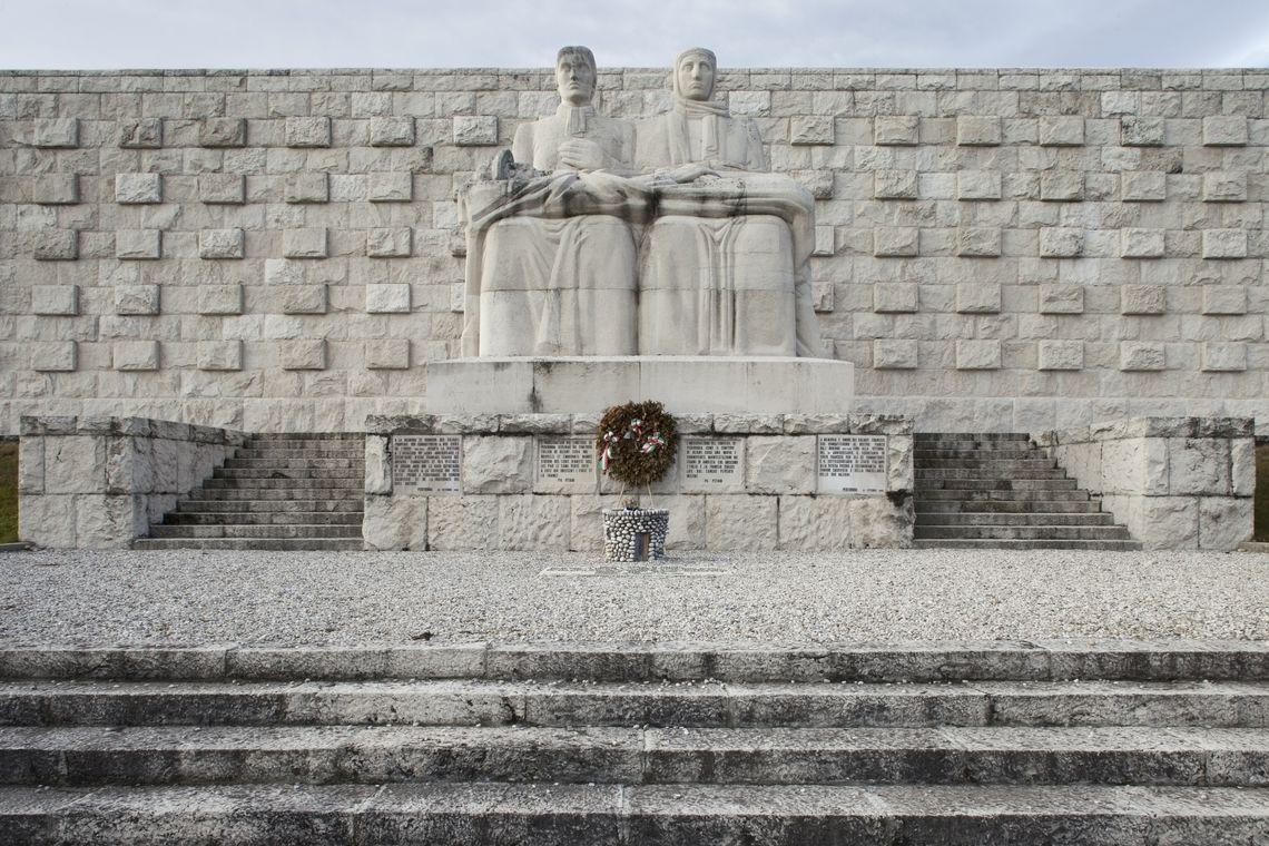 Sacrari della Grande Guerra - Sacrario Militare Francese di Pederobba