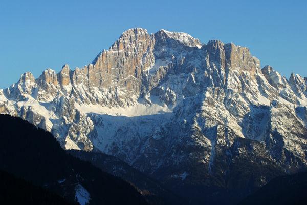 Pale di San Martino-San Lucano - Dolomiti Bellunesi - Vette Feltrine, Monte Civetta visto nord -  Stefano Dal Molin