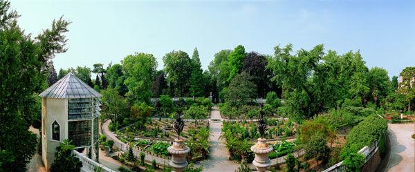 Panoramica dell'Hortus cinctus - Crediti: Orto Botanico