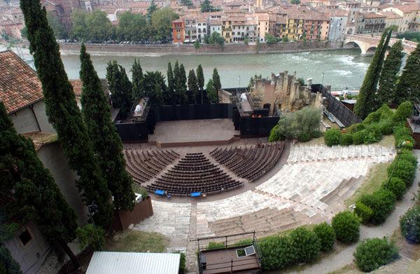 Teatro romano - Crediti: Comune di Verona