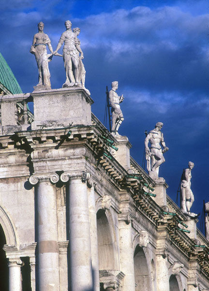 Dettaglio della Basilica Palladiana -  Ufficio Unesco del Comune di Vicenza