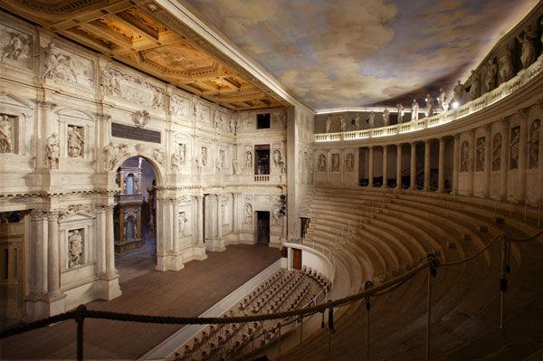 Il Teatro Olimpico di Vicenza - Crediti: Ufficio Unesco del Comune di Vicenza
