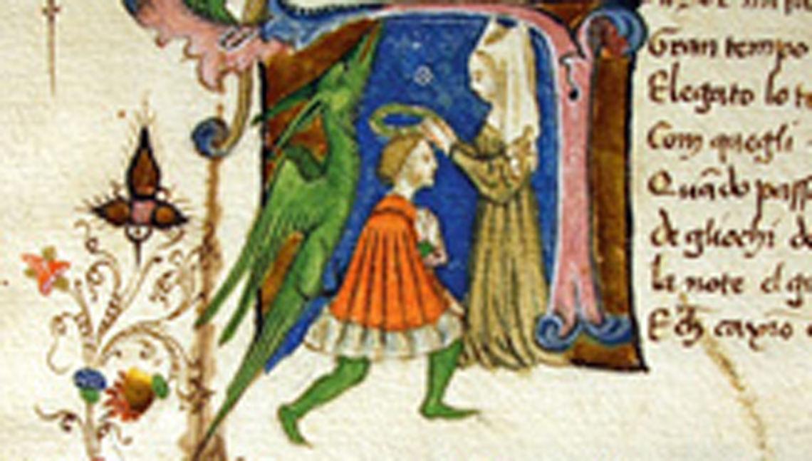 manoscritto medievale