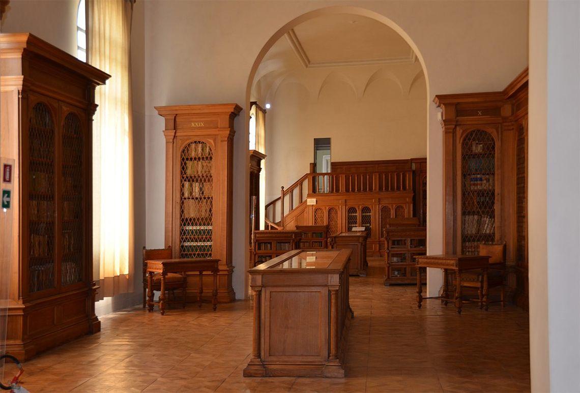 villa contarini biblioteca