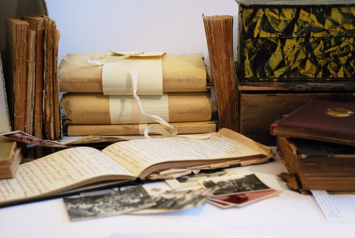 immagine di documenti della Fondazione Benetton di Treviso