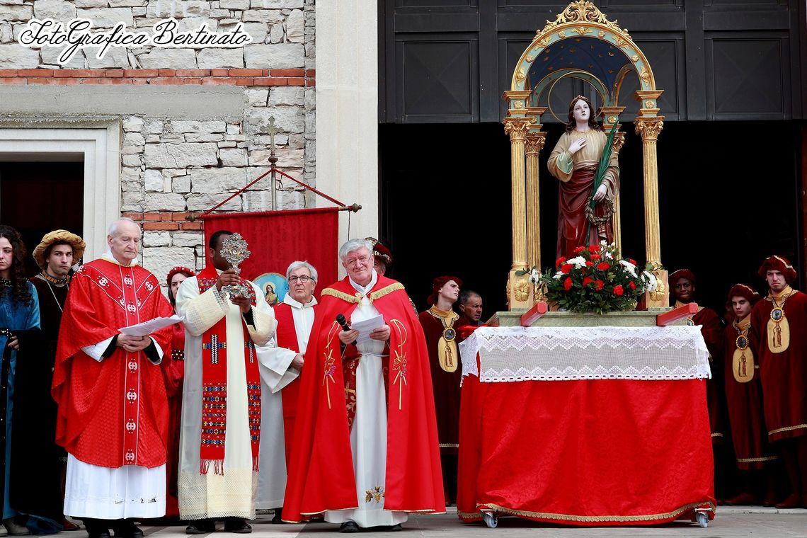 Festa di Sant'Agata funzione religiosa -  Foto&Grafica Bertinato