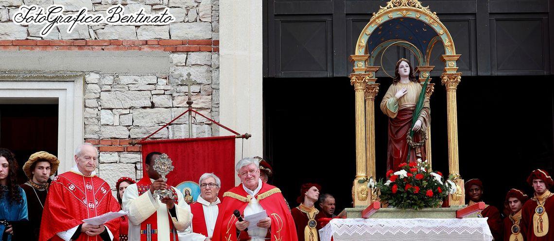 Festa di Sant'Agata - particolare funzione religiosa -  Foto&Grafica Bertinato