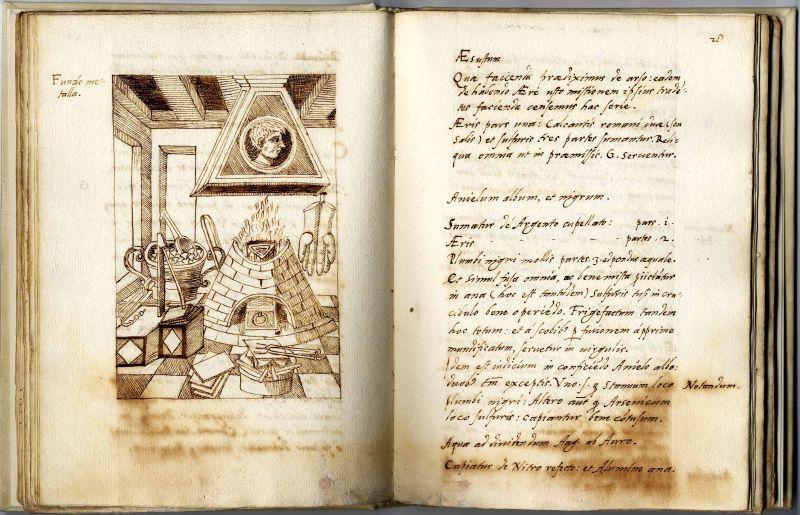 percorso libri e luoghi di alchimia e magia -  Biblioteca Bertoliana di Vicenza