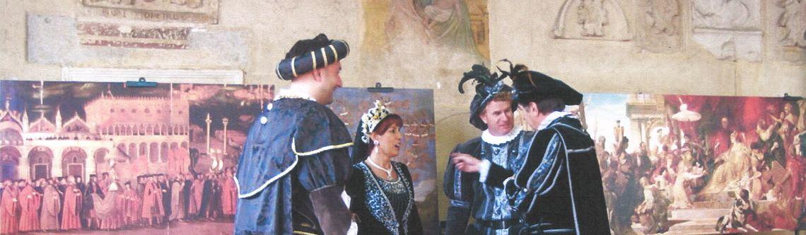Asolo 1489 Arrivo della regina Caterina Cornaro ad Asolo