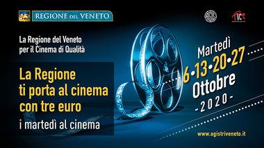 """""""I Martedì al Cinema"""" ottobre 2020"""