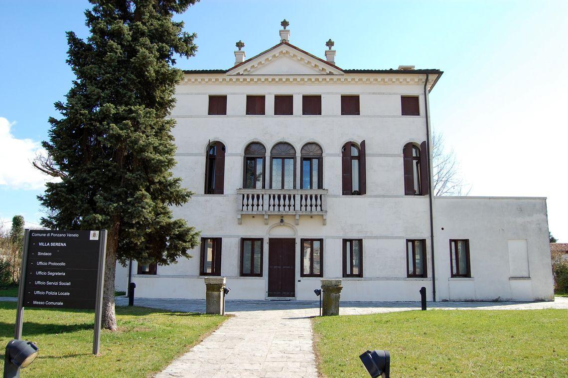 BiblioTour, Ponzano Veneto TV, Villa Rubbi - Serena