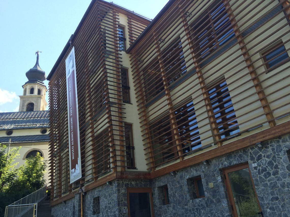 BiblioTour, Canale d'Agordo BL, Ex Confraternita di Santa Maria dei Battuti