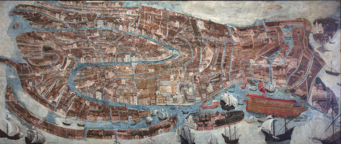 G.B. Arzenti, Veduta generale della Città di  Venezia -  Fondazione Musei Civici di Venezia - Archivio fotografico