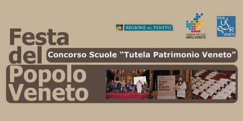 Logo della Festa del Popolo Veneto - concorso scuole