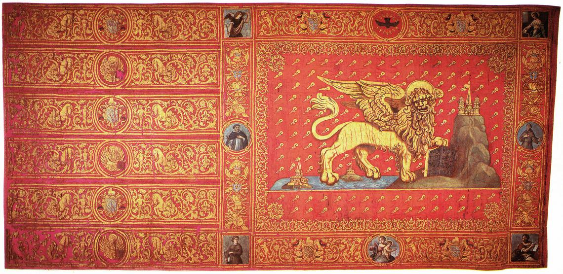 Bandiera Contarina -  Fondazione Musei Civici di Venezia - Archivio fotografico
