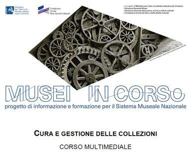 """Corso multimediale """"Cura e gestione delle collezioni"""""""