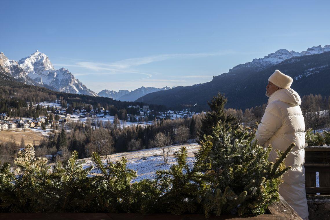 The New pope - Cortina d'Ampezzo BL