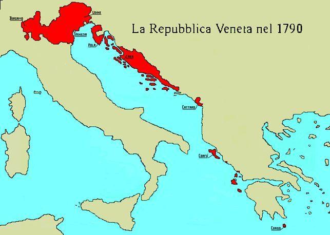 la Repubblica Veneta nel 1790