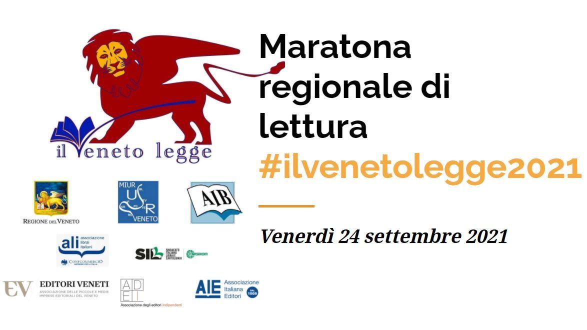 """Maratona regionale di lettura """"Il Veneto Legge 2021"""""""