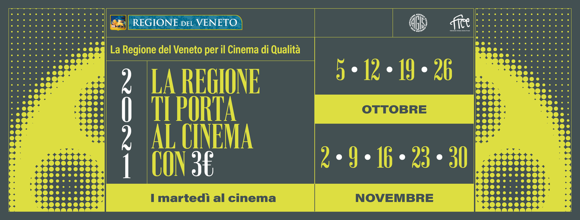 In Veneto si torna al cinema con tre euro