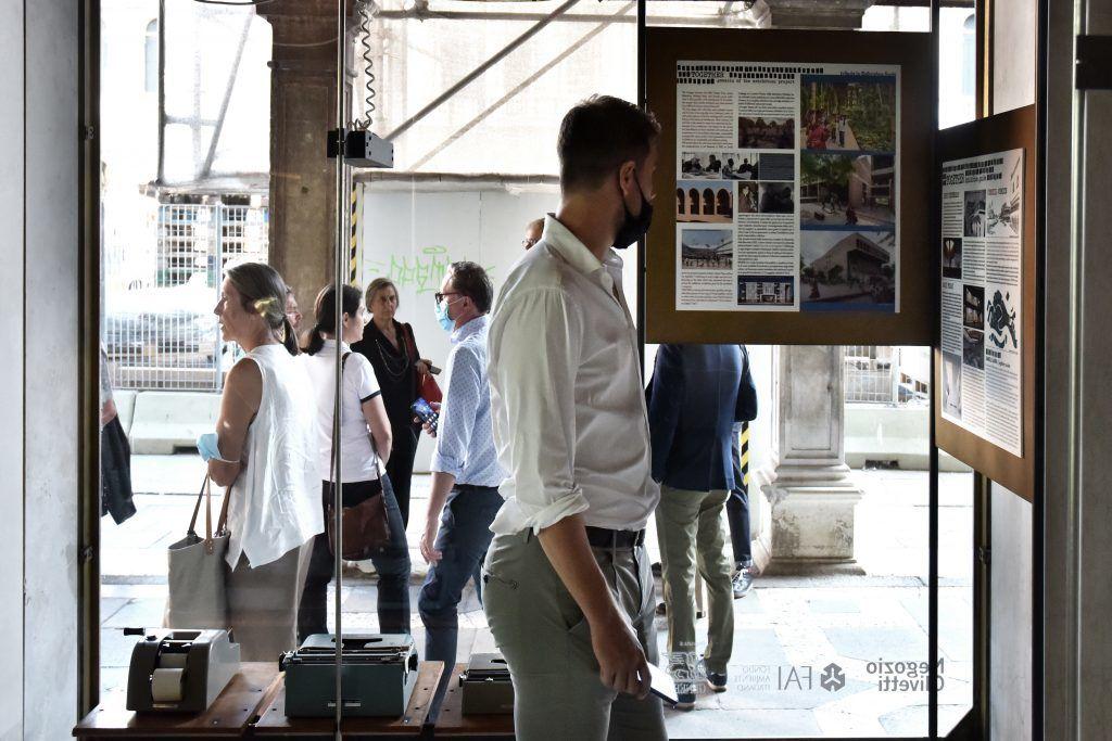Together. La mostra promossa dal  FAI – Fondo per l'Ambiente Italiano, l'Ordine degli Architetti di Venezia e IQD