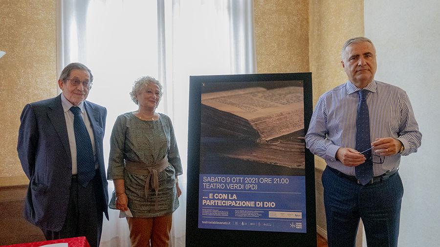 Al Teatro Verdi di Padova .....E con la partecipazione di Dio