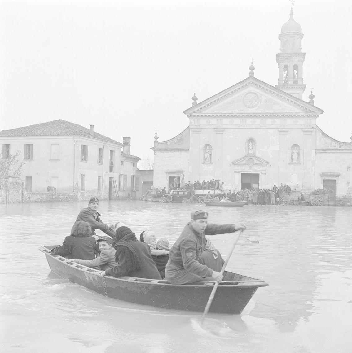 70 anni dopo La Grande Alluvione.  Rovigo, Palazzo Roncale fino al 30 gennaio 2022